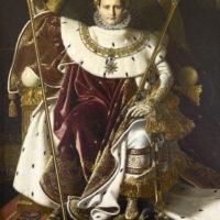 Энгр. Портрет Наполеона.