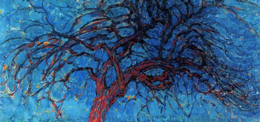 Красное дерево. Пит Мондриан.
