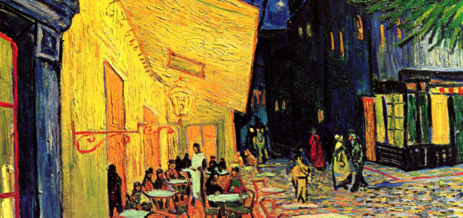 Ночная терраса кафе. Ван Гог.