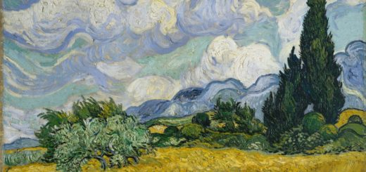 Пшеничное поле. Ван Гог.