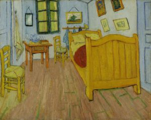 Спальня в Арле. Ван Гог.