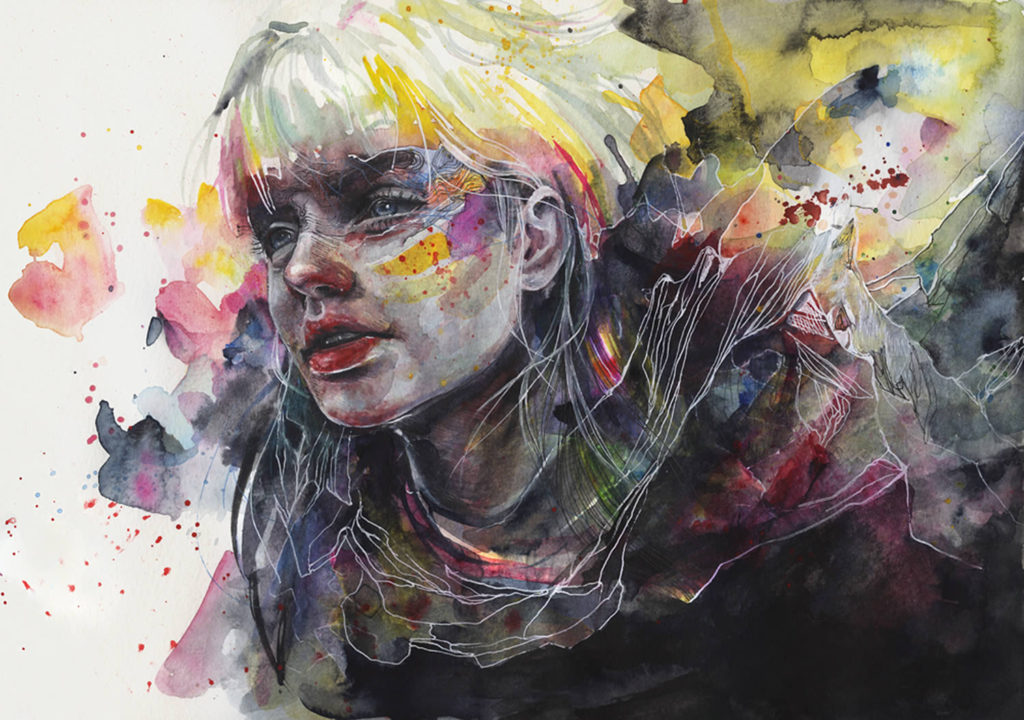 Картина Агнес Сесиль
