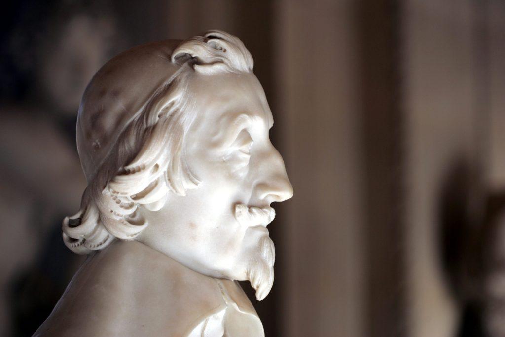 Бюст кардинала Ришелье. Бернини.