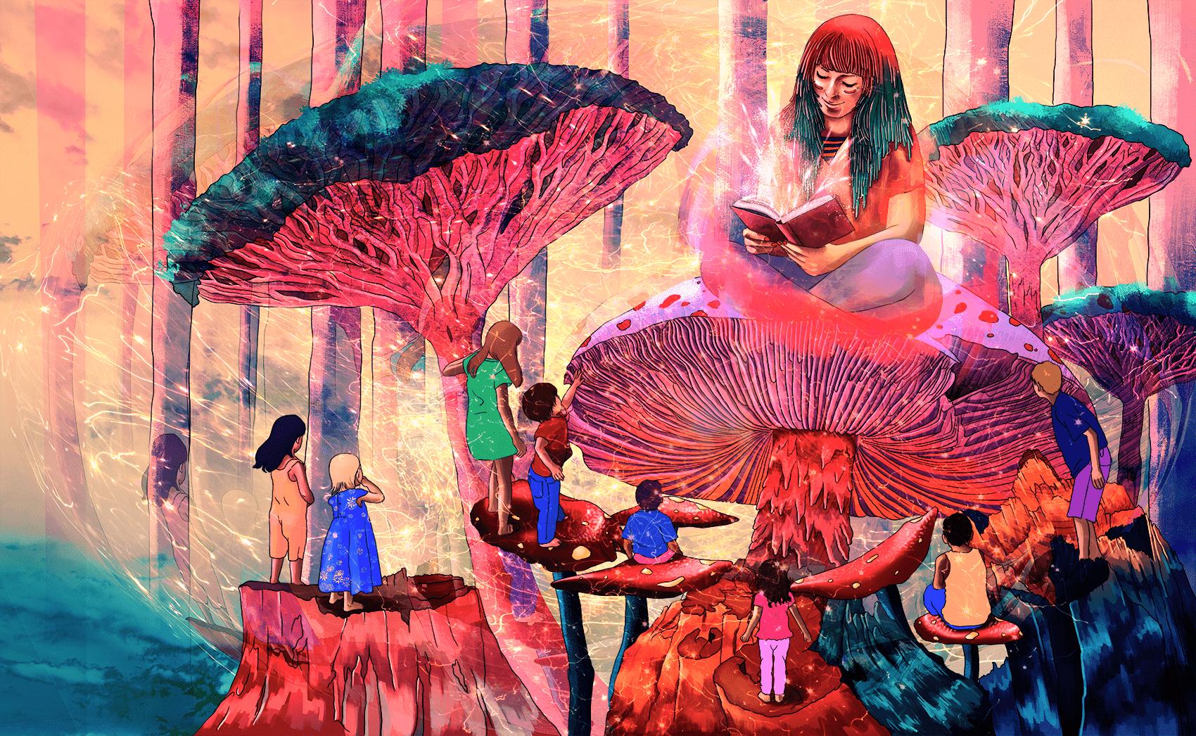 Иллюстрация Каролины Фуэнмайор
