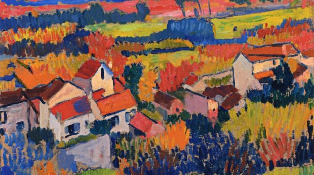 Пейзаж близ Шату. Андре Дерен.