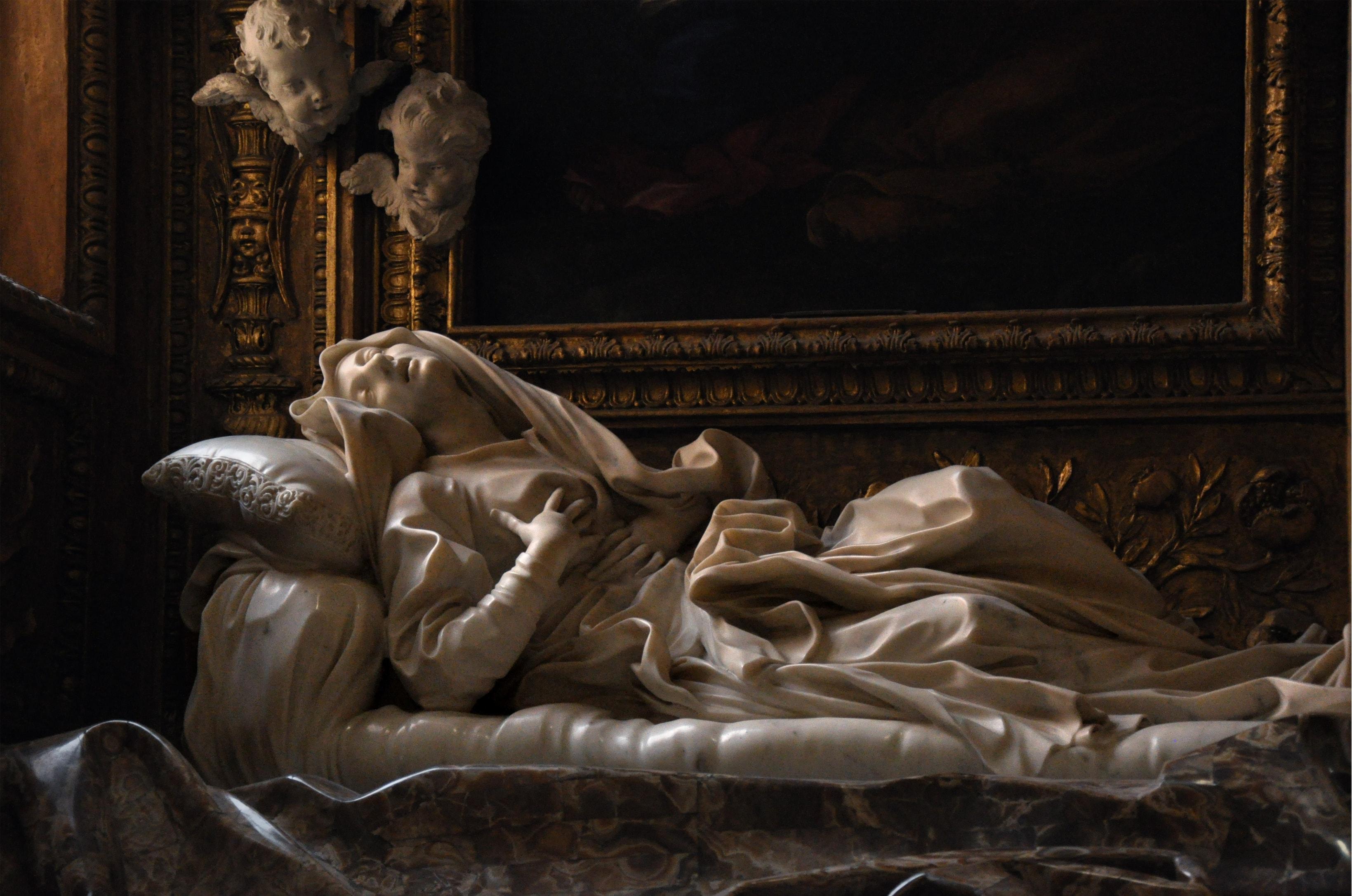Экстаз блаженной Людовики Альбертони. Бернини.