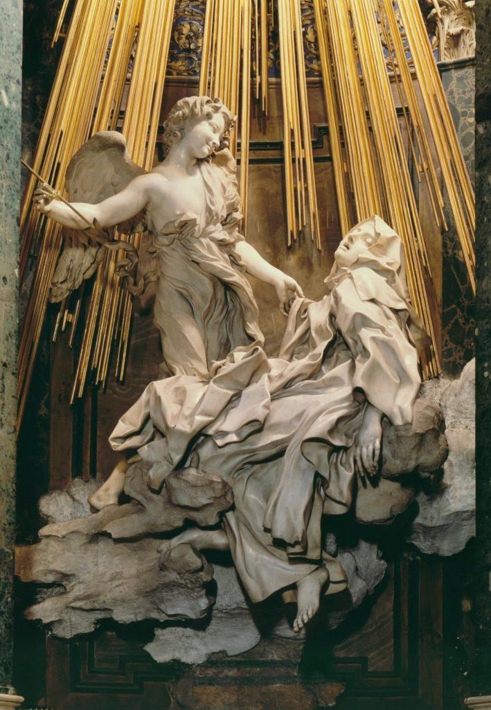 Экстаз святой Терезы. Бернини.