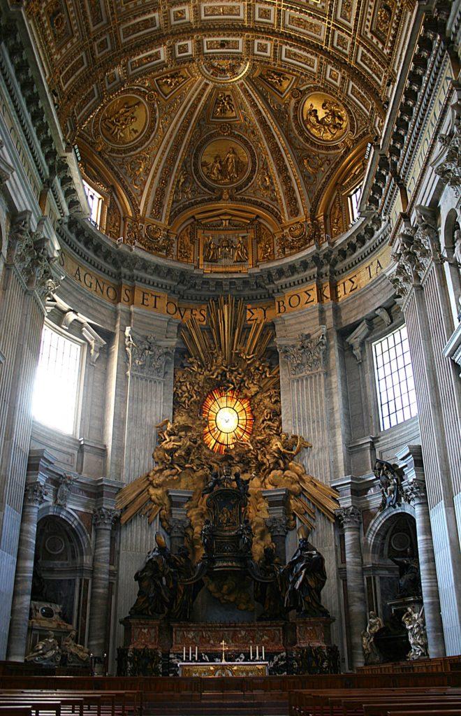 Кафедра в соборе Святого Петра