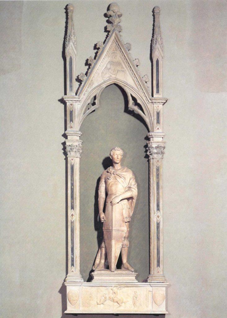 Святой Георгий. Донателло.