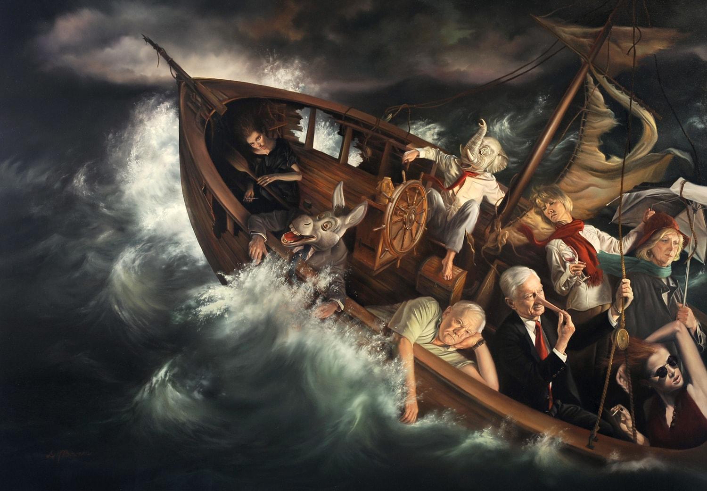 Картина Дэвида Бауэрса