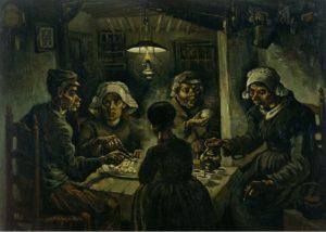 Едоки картофеля. Ван Гог.