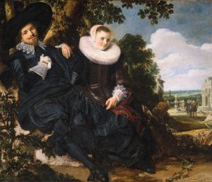 Портрет молодой пары. Халс.