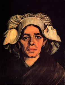 Голова женщины. Ван Гог.