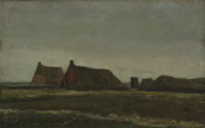 Хижины. Ван Гог.