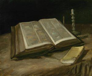 Натюрморт с библией. Ван Гог.