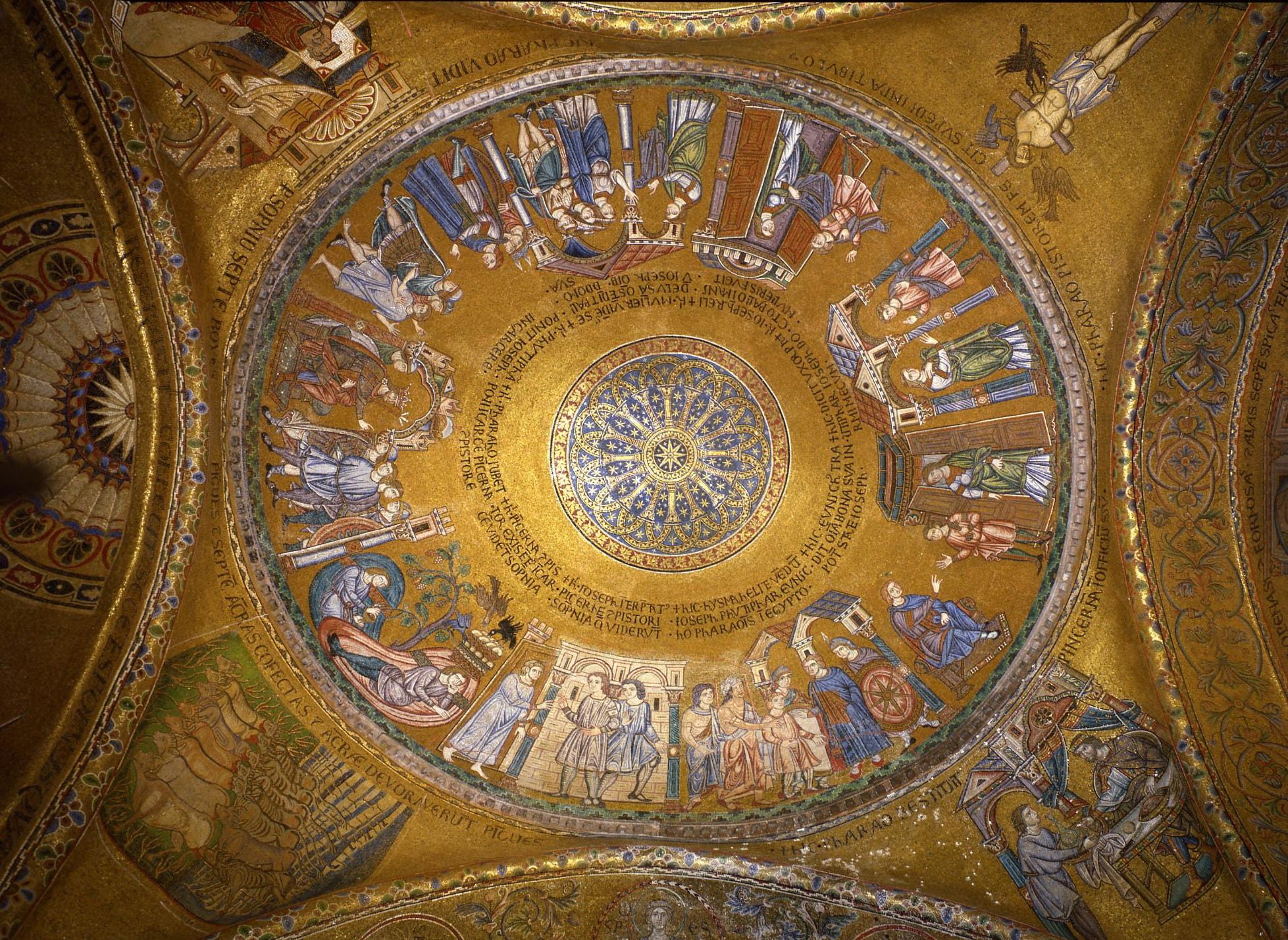 Собор Святого Марка, Венеция. Купол святого Иосифа.