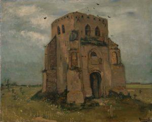 Сельское кладбище. Ван Гог.