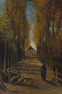 Тополиная аллея. Ван Гог.