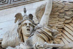 Горельеф «Марсельеза». Триумфальная арка.