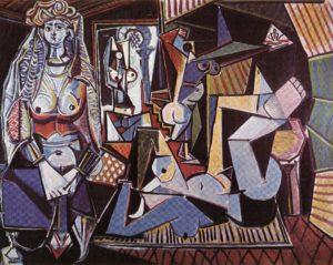 Алжирские женщины (версия O). Пикассо.