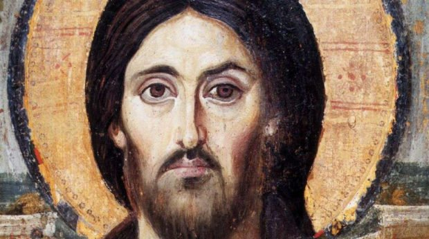 Христос Пантократор. Фрагмент.