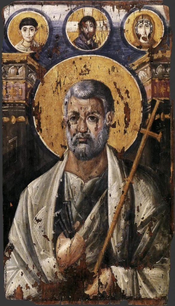 Икона апостола Петра. Монастырь Святой Екатерины.