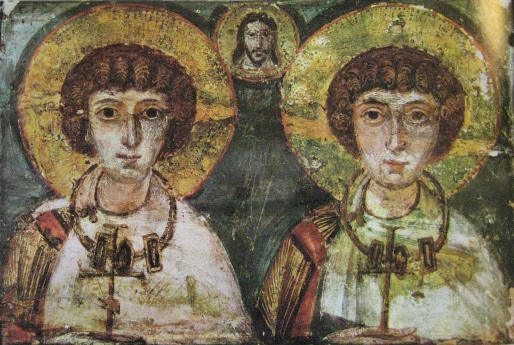 Св. Сергий и Вакх (6-7 век)