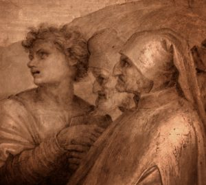 Фрагмент росписи в Клуатр делло Скальцо