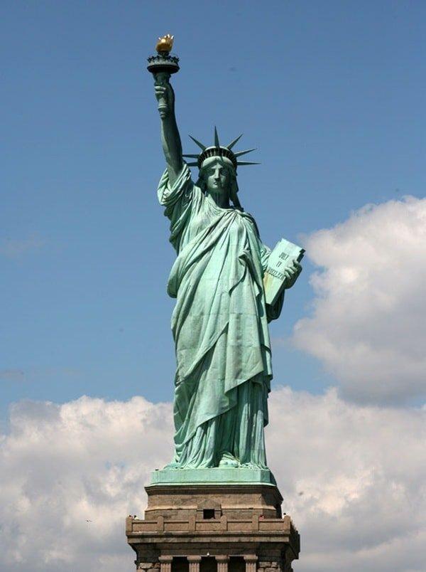 Статуя свободы. Бартольди.
