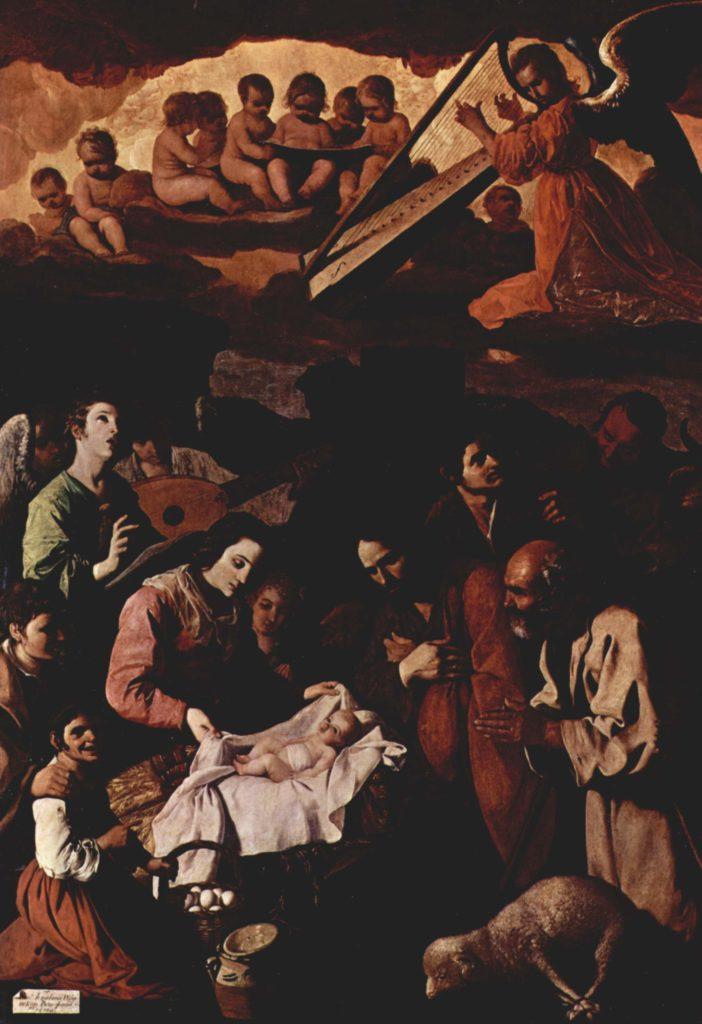 Поклонение пастухов. Франсиско де Сурбаран.