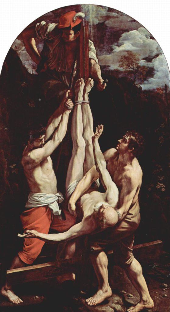 Распятие святого Петра. Гвидо Рени.