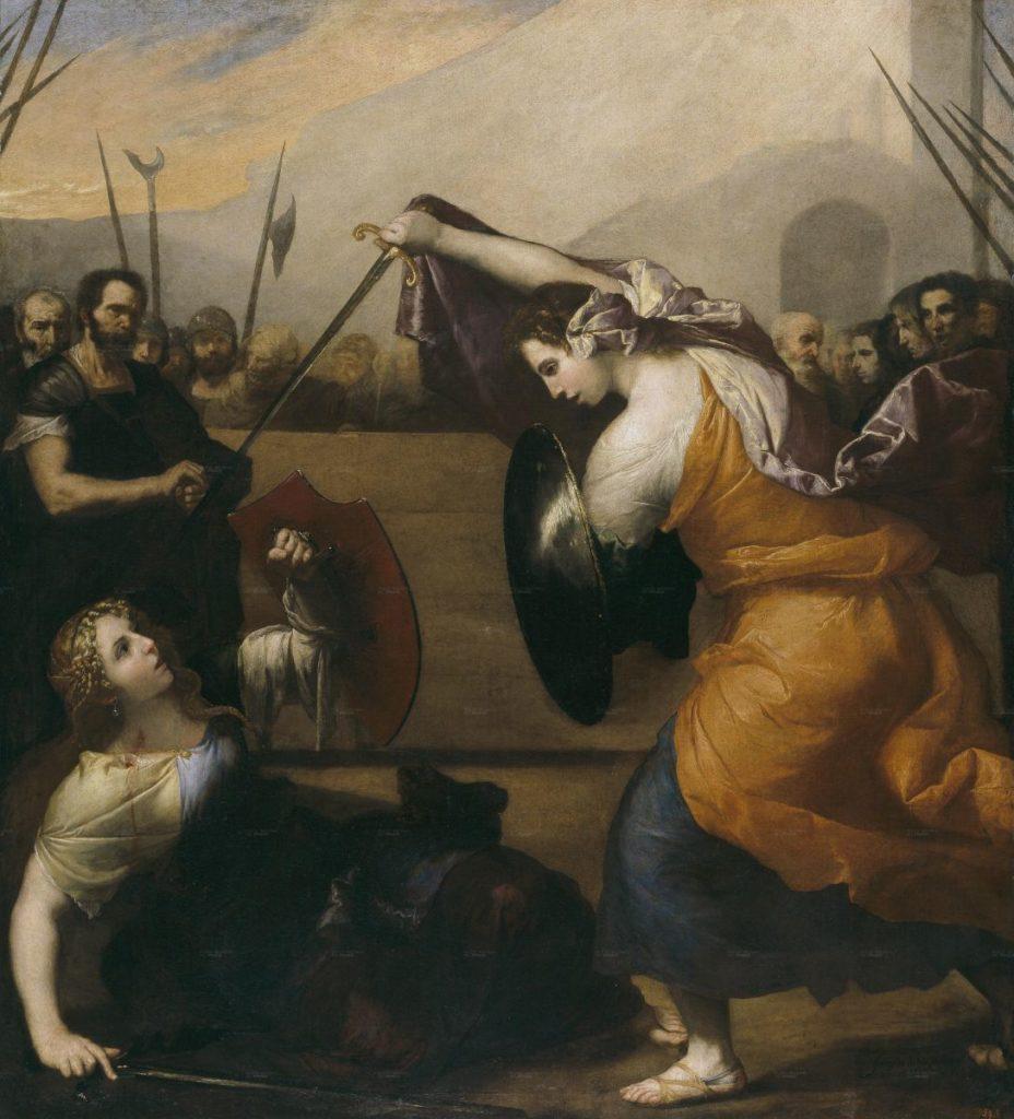 Женская дуэль. Хосе де Рибера.