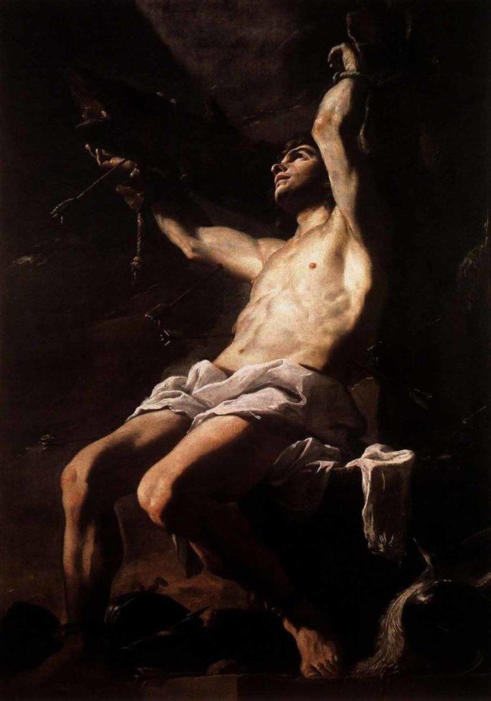 Святой Себастьян. МаттиаПрети.