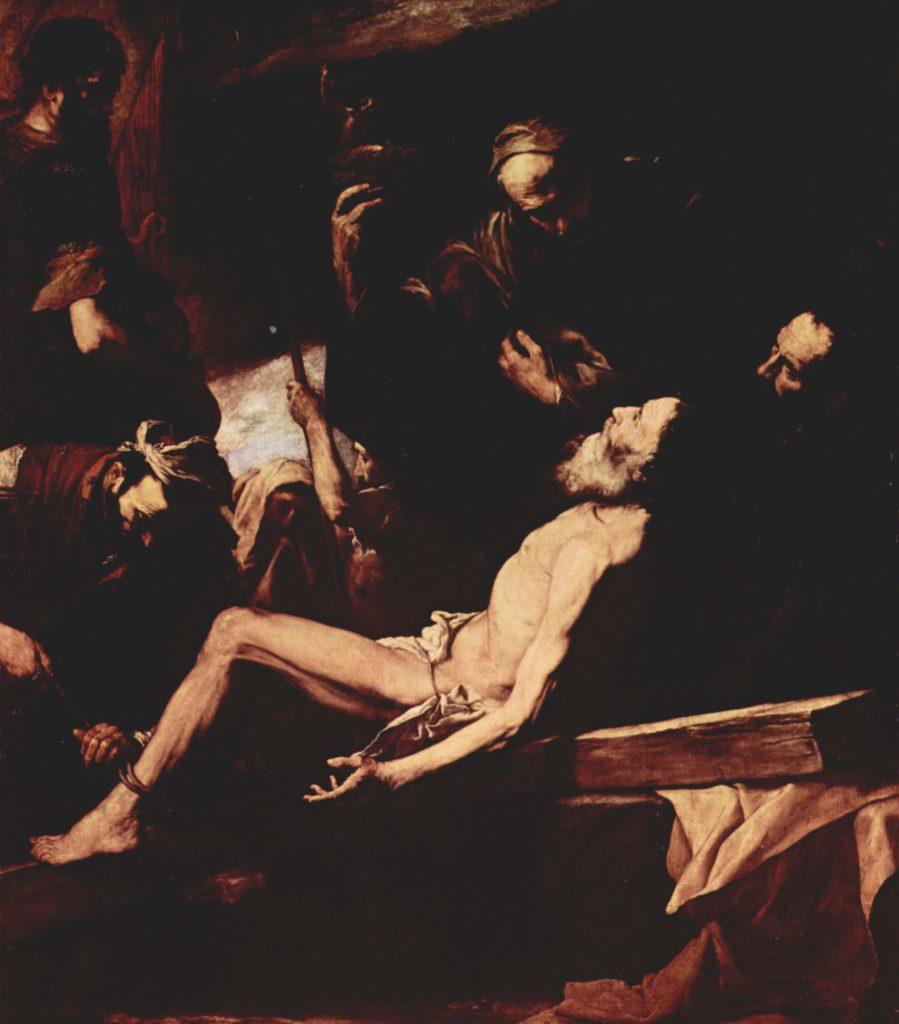 Мученичество апостола Андрея. Хосе де Рибера.