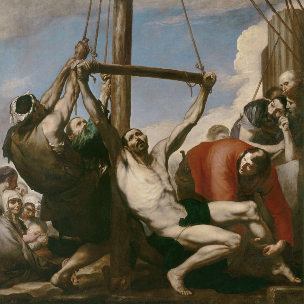 Мученичество святого Филиппа. Хосе де Рибера.