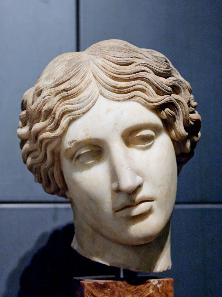 Голова статуи амазонки. Поликлет.