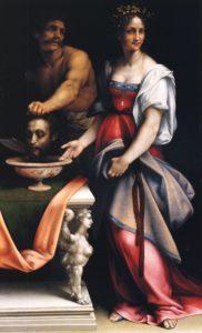 Саломея с головой Иоанна Крестителя. Чезаре де Сесто.
