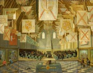 Заседание Генеральных Штатов. Ван Делен.