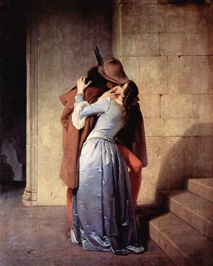 Поцелуй. Франческо Хейец.