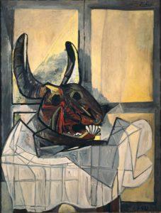 Голова быка. Пикассо.