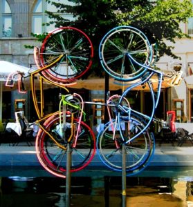 Велосипеда. Роберт Раушенберг.