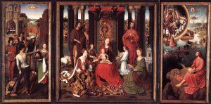 Алтарь Девы Марии. Ганс Мемлинг.
