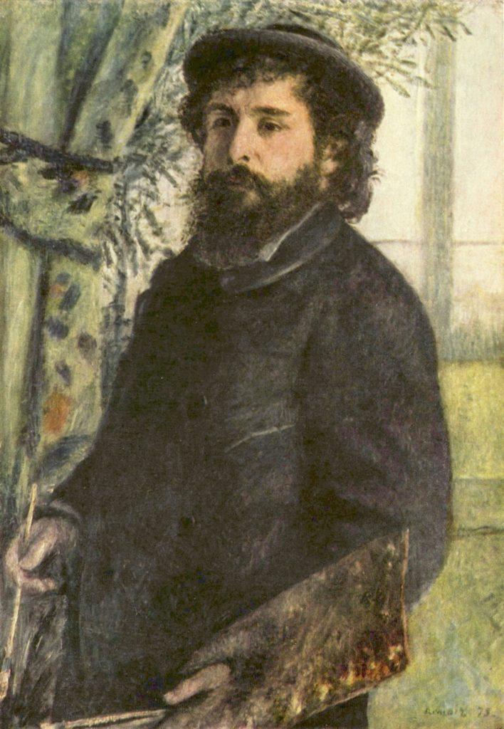 Портрет Клода Моне. Ренуар.